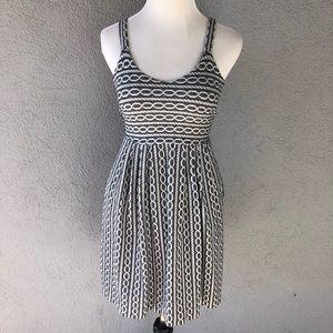 Anthro Postmark cross-back Dress